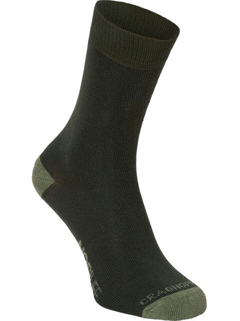 Craghoppers Single NosiLife Travel Socks Men Parka Green/Dry Grass